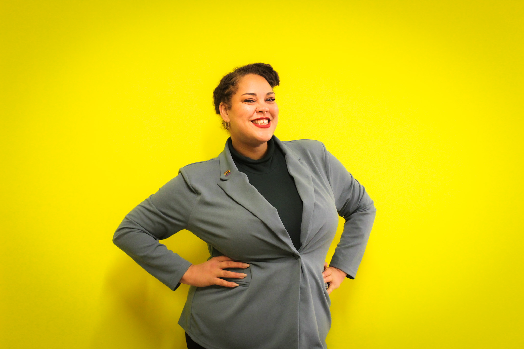 This is an image of galaei's Executive Director Ashley L. Coleman